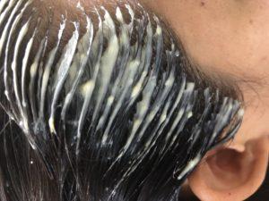 生え際の白髪染め